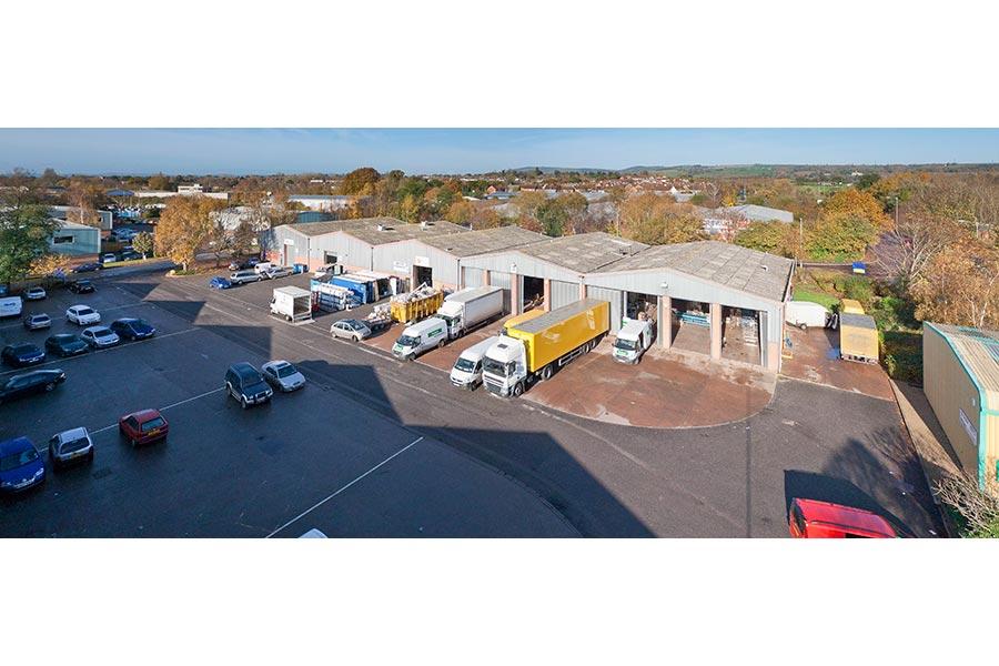 Yodel Distribution Depot in Taunton