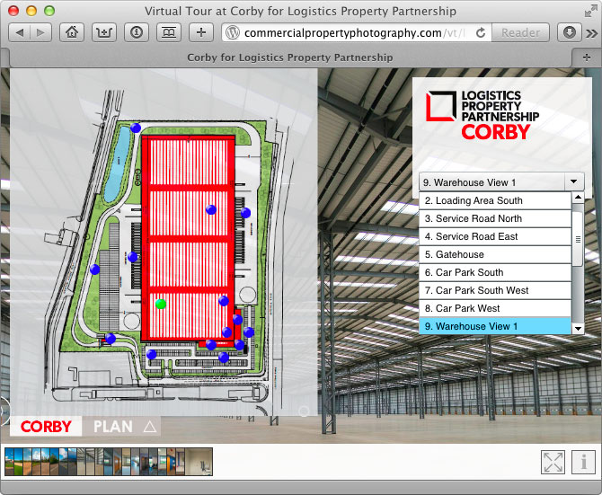 Logistics Property Partnership Corby Virtual Tour