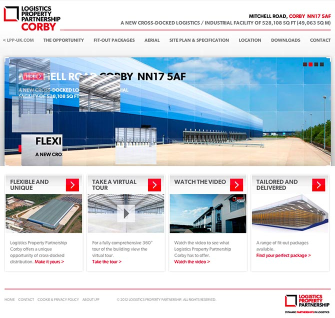 lpp-corby-website-home-page