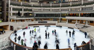Broadgate Ice Rink at Finsbury Circus