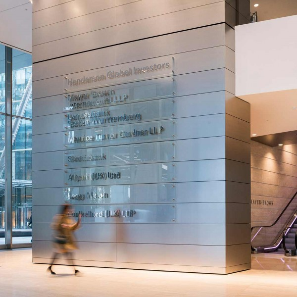 Broadgate Tower Entrance Foyer Property Photographer Steve Townsend
