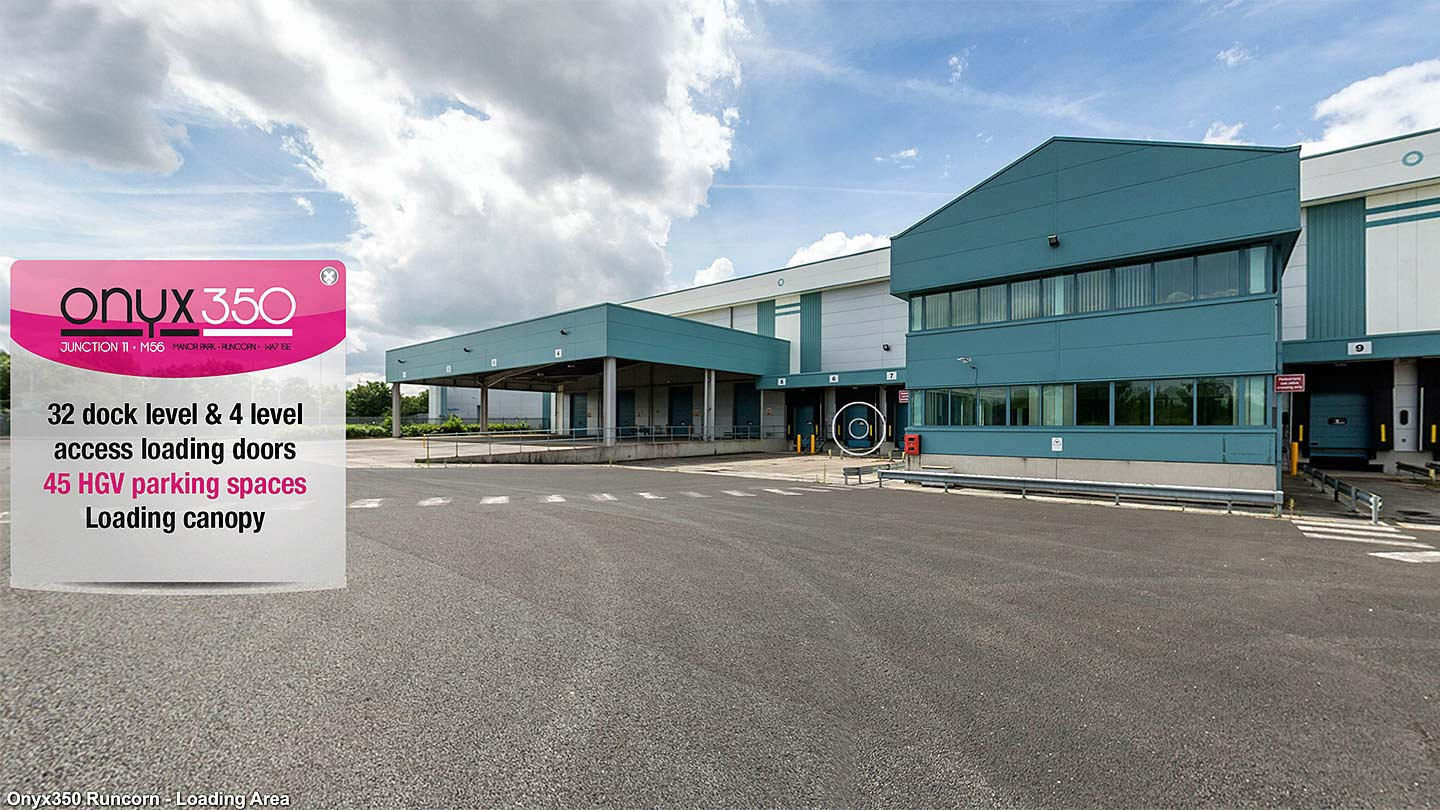 Virtual tour at Onyx350 Runcorn for Logicor