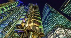 Leadenhall Building and Lloyds of London Buiding