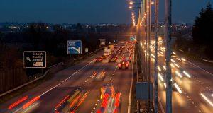 Slough Trading Estate Signage on M4 Motorway