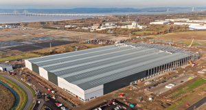 Central Park Bristol aerial drone photo of The Range New RDC Facility